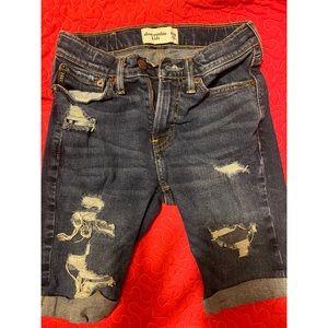 Abercrombie Kids Boys Denim Shorts Size 9/10